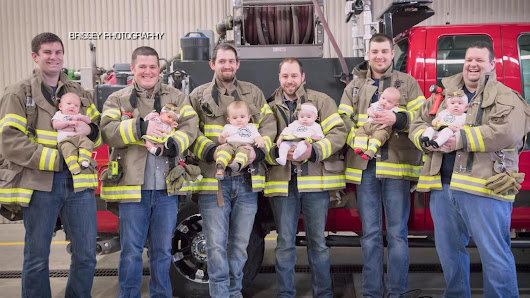 Small fire department welcomes 6 babies in 7 months |