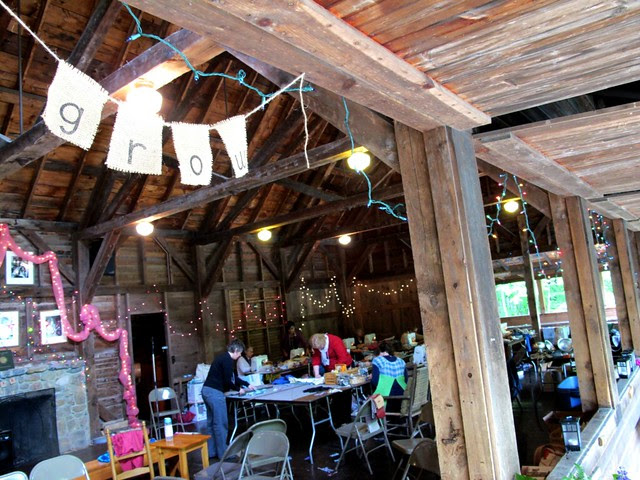 story scarves in the playhouse