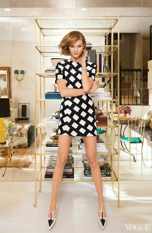Supermodel Karlie Kloss NYC Apartment