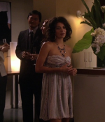 Jessica Szohr as Vanessa wearing Eskell
