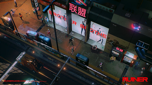 Enjoy a beautifully brutal cyberpunk tale in upcoming PS4 action shooter Ruiner