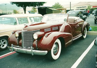 Brunn bodied Cadillac made for Pulitzer