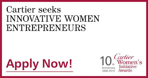 Apply for Cartier women's initiative
