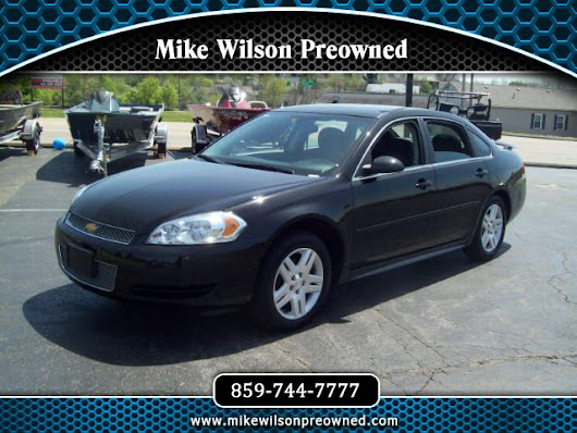 Used 2016 Chevrolet Impala Limited LT for Sale in Winchester KY 40391 Mike Wilson Preowned