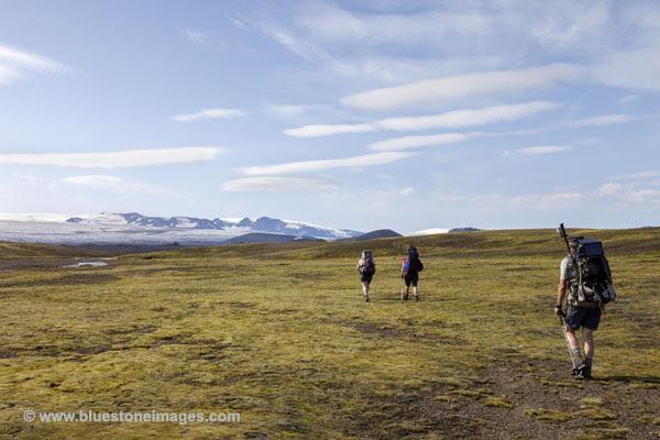 06D-0801 Temp Heading Towards the Myrdasjokull Glacier and the Mighty Katla Volcano Iceland