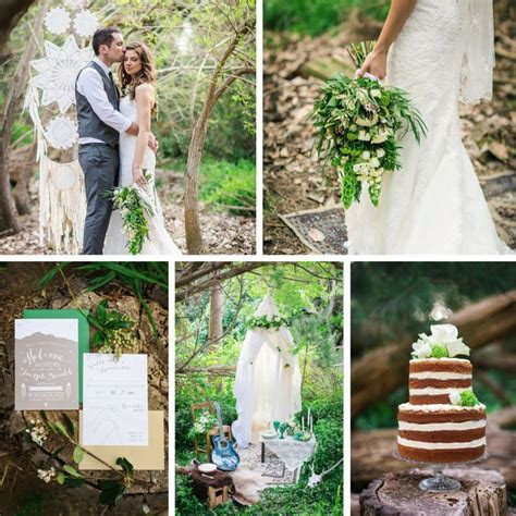 Lush Spring Boho Vintage Wedding Ideas : Chic Vintage Brides