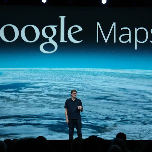 New Google Maps Looks Spectacular