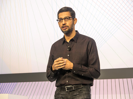 Google CEO, an immigrant himself, takes on Trump: 'We must speak out'