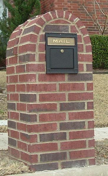 Master Masonry Brick Repair And Restoration Mailbox Repair