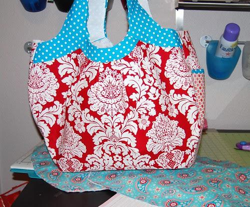 Goodie Bag Swap in progress