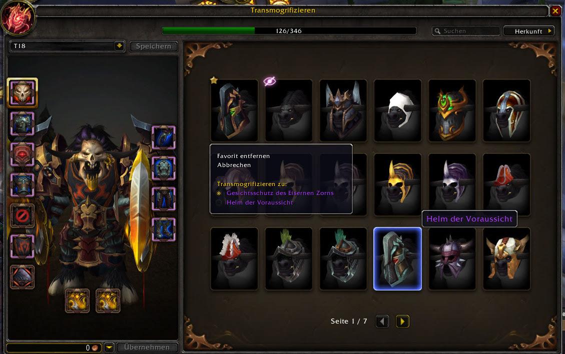 Transmog Bug World Of Warcraft Foren