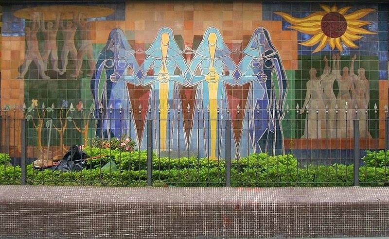 Ficheiro:Clóvis Graciano, mural Nações Unidas.JPG