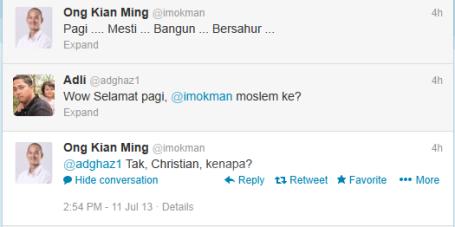 Ong Kian Ming (imokman) on Twitter 2013-07-12 10-08-49