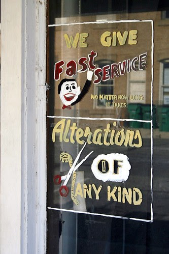eastland laundry & dry cleaning window