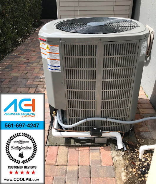 Professional A/C installation inside and out - Advanced Cooling and Heating Inc