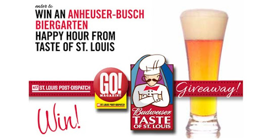 Win an Anheuser-Busch Biergarten Happy Hour from Taste of St. Louis
