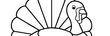Free Printable Preschool Turkey Coloring Pages