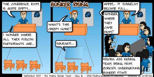 fedora webcomic bunker rising