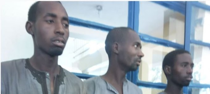 Photo Of Three Heartless Robbers Who R-ped A Man's Wife Before Robbing Him In Kastina