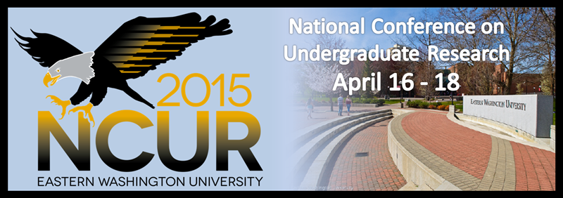 2015 National Conference on Undergraduate Research.
