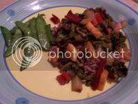 Balsamic Chard and Zucchini