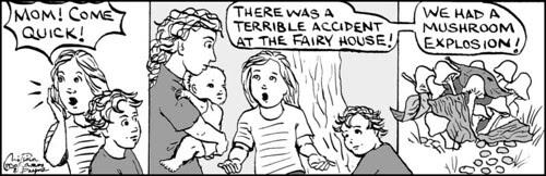 Home Spun comic strip #256