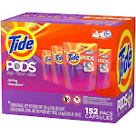 Tide 152 Count Spring Meadow Scent Pods Laundry Detergent