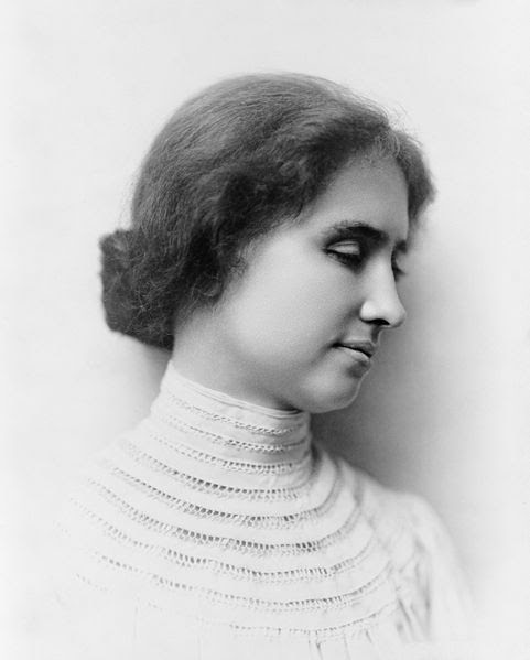 Helen Keller Captured on Video