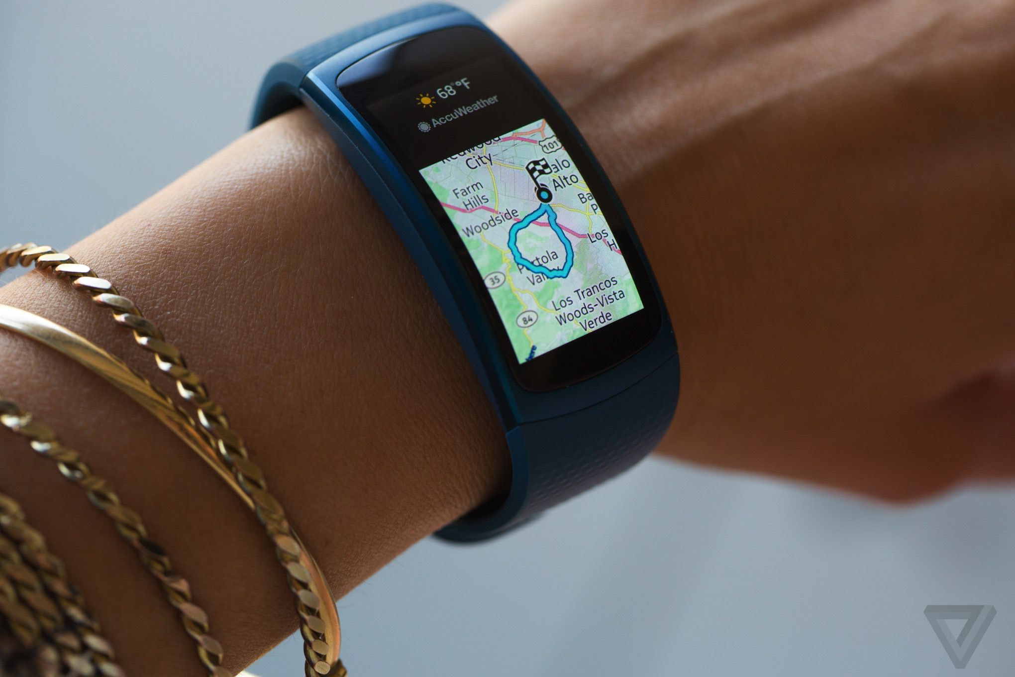 Samsung Gear Fit 2 Review Samsung Gets Fitness Tracking