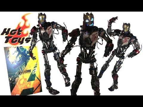 Hot Toys Avengers AOU Ultron Mark 1 Toy Review