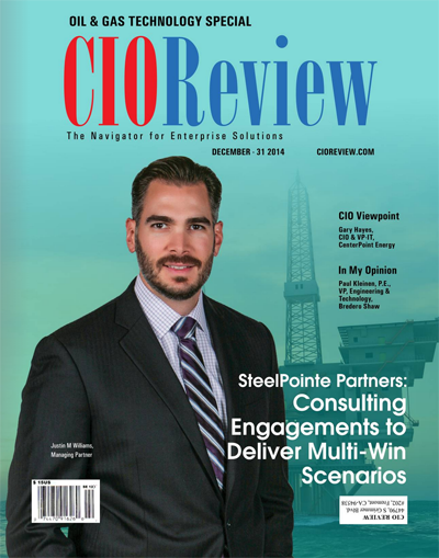 CIO Review selects SteelPointe Partners for 20 Most Promising Energy Tech Solution Providers