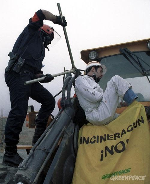 ¡No! a la incineración contaminante de residuos urbanos e industriales