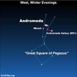 Star-hop: Pegasus to Andromeda galaxy | EarthSky.org