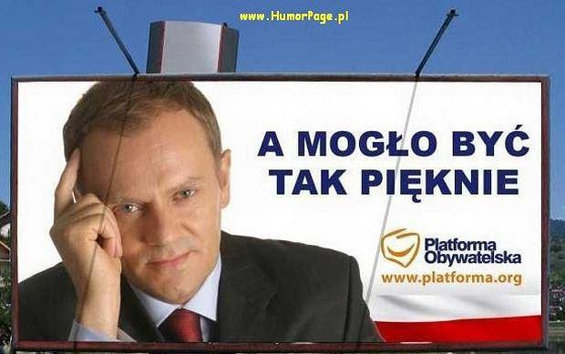 50 memów na pięciolecie rządu Tuska.