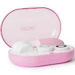 Vanity Planet GlowSpin Facial cleansing brush - Pucker-up Pink