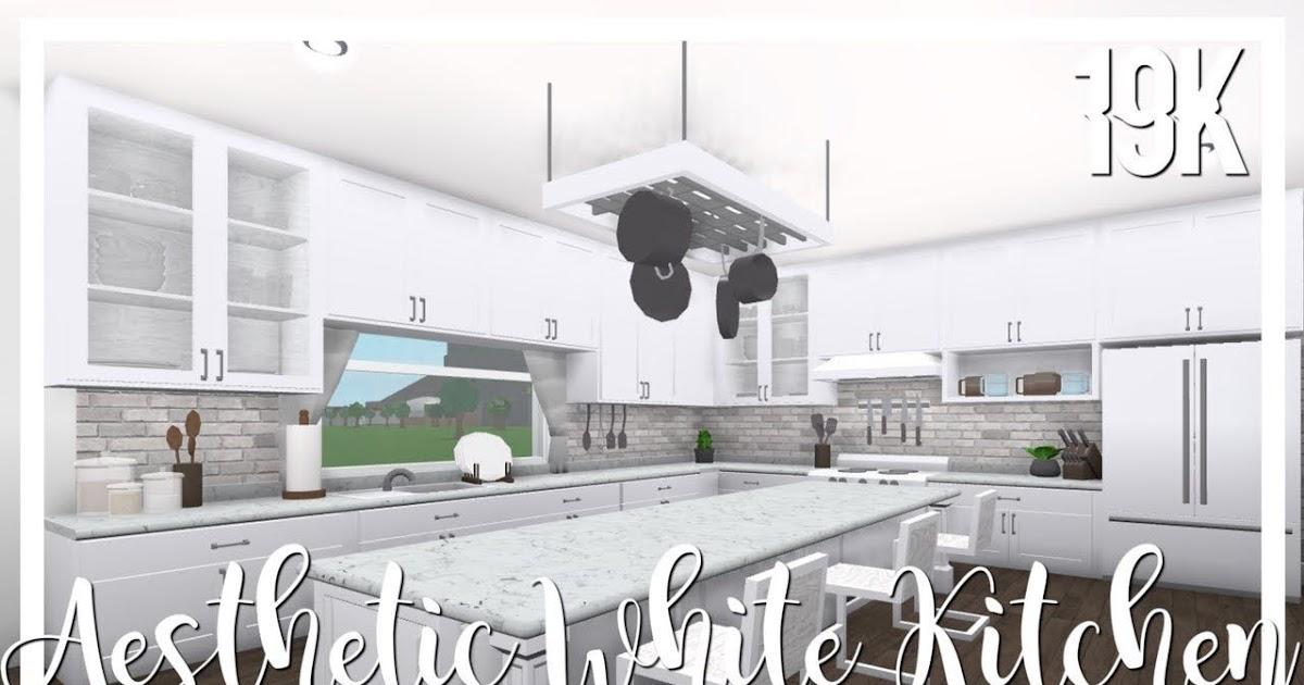 Modern Aesthetic Bloxburg Kitchen Ideas Home Design Ideas