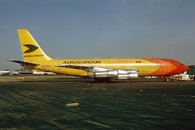 Aerocondor Colombia Boeing 720-023B (F) HK-1974 (msn 18028) MIA (Bruce Drum). Image: 102884.