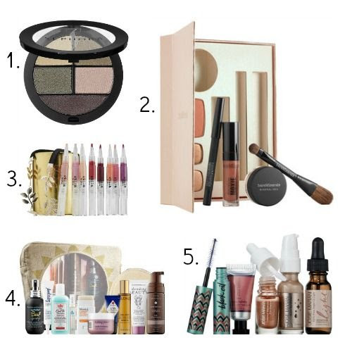 Sephora Eyeshadow - bareMinerals Makeup Collection - Stila Lip Glaze Set - Sephora Favorites Summer Crushes - Josie Maran Argan Oil Collection