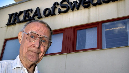 Ikea founder Kamprad dies at 91