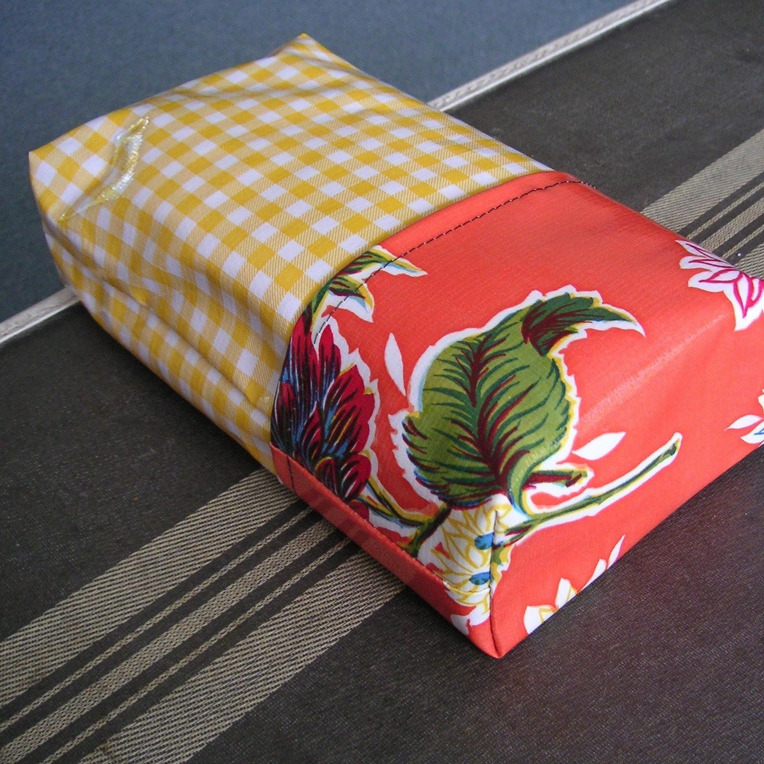Hello Yellow CASEY oilcloth diaper change case