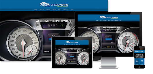 HTML Template - Speedy Cars