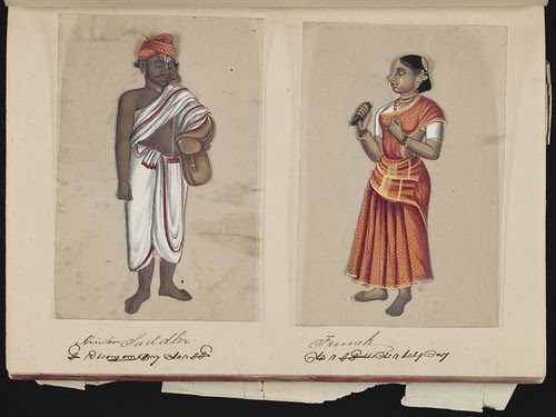 Hindoo saddler - Female, Madura, 1837