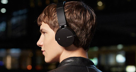 One of Two Sony MDR-XB650BT Headphones