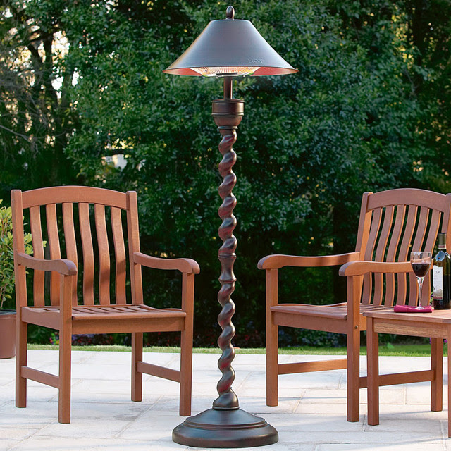Outdoor Patio Heater Lamp at Brookstone traditional-patio ...