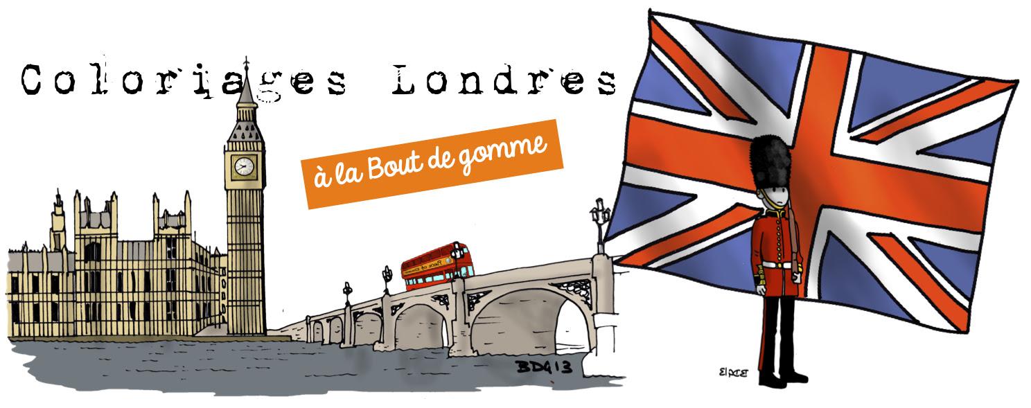 Coloriages Londres à La Bout De Gomme Bout De Gomme