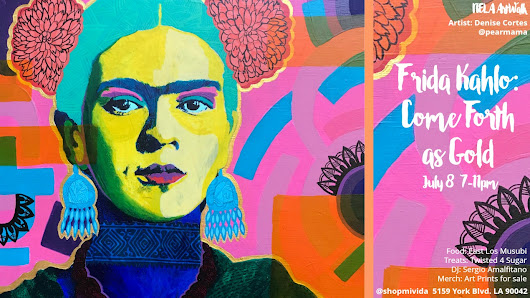 Frida Kahlo: Come Forth As Gold Show | Pearmama