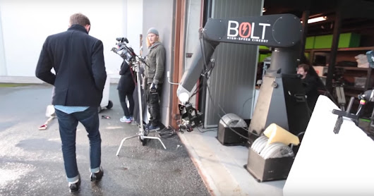 Watch a High Speed 'Cinebot' Capture Some Killer Slow Motion Shots