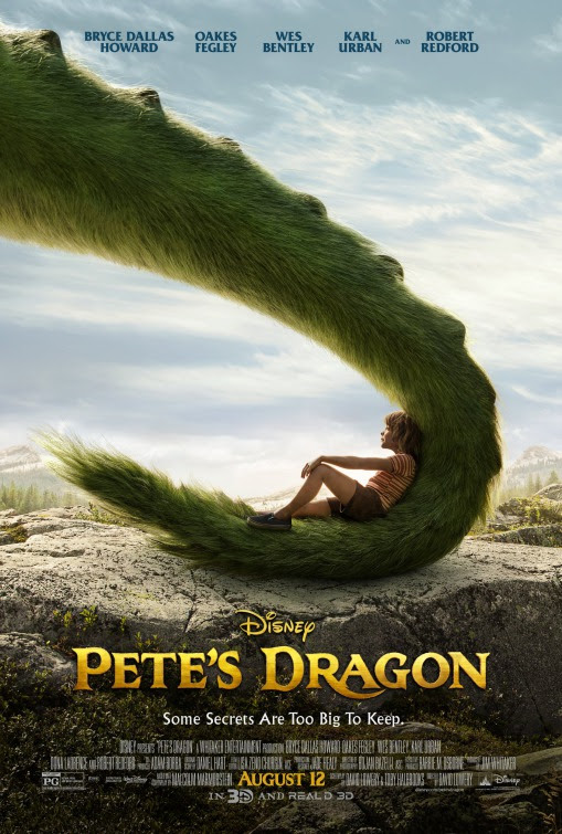 Resultado de imagen de peter and the dragon movie poster