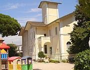 I giochi dell'asilo nel cortile delle murialdine a Borgo  Sabotino