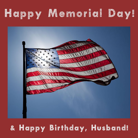 Happy Memorial Day! - Katie Crafts - Crafting, Sewing, Recipes and More!